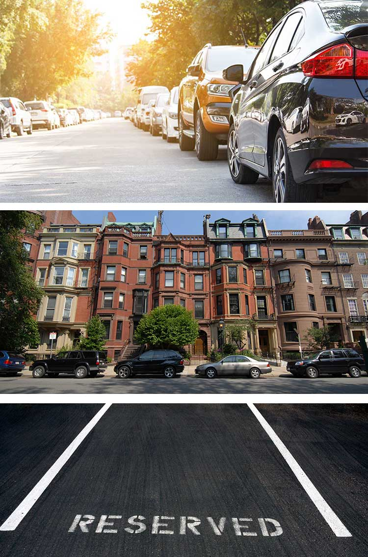 Boston Parking Space Services Rent & Sale